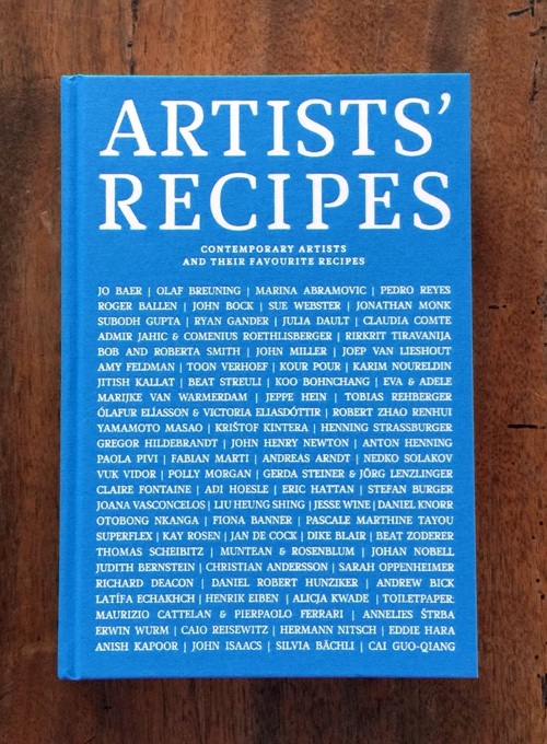 Artist's Recipes - Contemporary Artists and the...